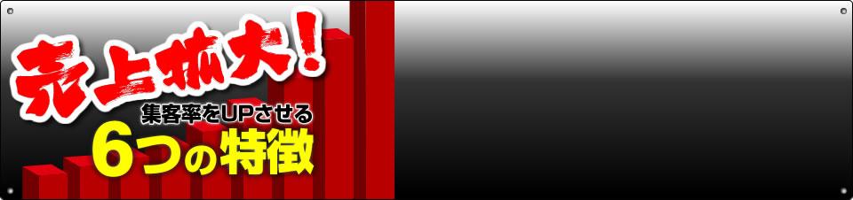 集客率をUPさせる 「チラシの援軍」売れる広告研究所のチラシ制作 5つの特徴